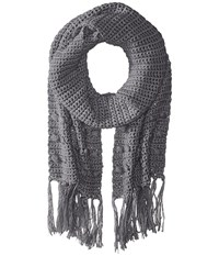 Prana Pammy Scarf Grey Scarves Gray