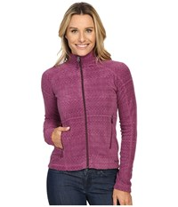 Marmot Rocklin Full Zip Jacket Amethyst Alps Women's Clothing Pink