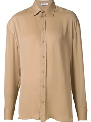 Tomas Maier Oversized Shirt Nude And Neutrals