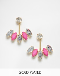 Johnny Loves Rosie Through And Through Fey Stud Earrings Pink