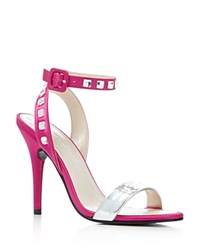 Caparros Cassidy Ankle Strap High Heel Sandals Magenta