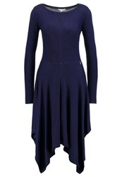 Patrizia Pepe Jumper Dress Dress Blue Dark Blue