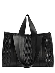Corto Moltedo Costanza Beach Club Woven Leather Tote