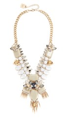 Adia Kibur Rivers Necklace Taupe