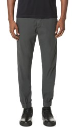 Z Zegna Superlight Poplin Stretch Comfort Pants Grey