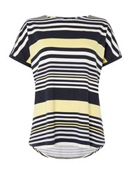 Therapy Variegated Stripe T Shirt Multi Coloured