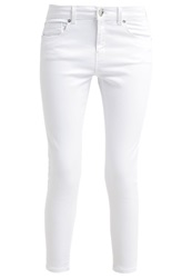 Warehouse Slim Fit Jeans White