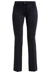 M A C Mac Dream Trousers Marine Dark Blue