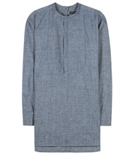 Citizens Of Humanity Cotton Blouse Blue