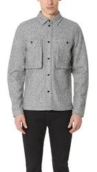 Native Youth Norite Shirt Jacket Grey