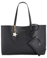 Tommy Hilfiger Tote With Pouch Black