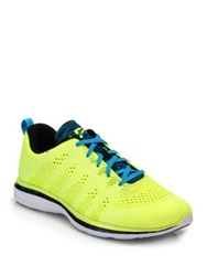 Athletic Propulsion Labs Techloom Pro Glow In The Dark Sneakers Neon Yellow