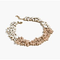 J.Crew Two Tone Floral Necklace Faded Blossom