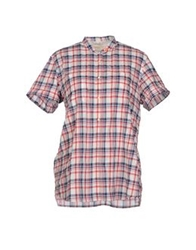 Levi's Made And Crafted Shirts Red