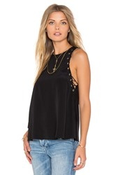 Amanda Uprichard Allegra Tank Black