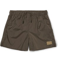 Acne Studios Perry Short Length Swim Shorts Army Green