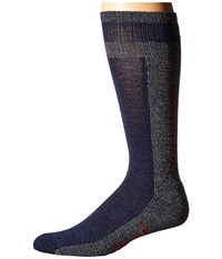 Smartwool Traverser Deep Navy Heather Men's Crew Cut Socks Shoes
