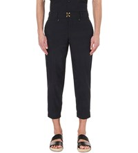 Kolor Regular Fit Tapered Trousers Navy