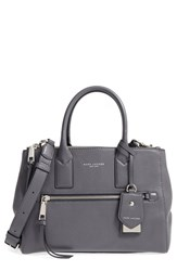Marc Jacobs Recruit East West Pebbled Leather Tote Grey Shadow