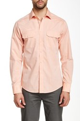 Vince Camuto Double Pocket Slim Fit Sport Shirt Pink