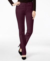 Charter Club Solid Lexington Corduroy Straight Leg Pant Only At Macy's Smoky Claret