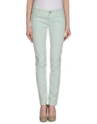 E Go' Sonia De Nisco Casual Pants Light Green