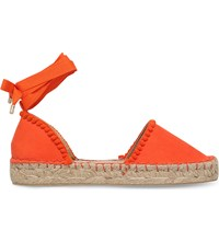 Miss Kg Dizzy Canvas Espadrilles Orange