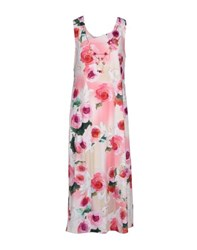 Vdp Beach Dresses 3 4 Length Dresses Women Pink