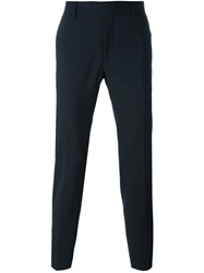 Les Hommes Tailored Trousers Blue