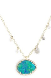 Women's Meira T Stone Pendant Necklace