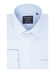 Howick Kier Multicheck Shirt Blue