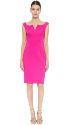 Zac Posen Sleeveless Dress Fuchsia