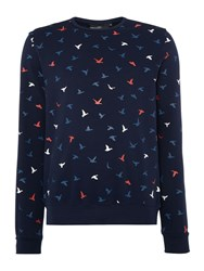 Duck And Cover Freestyle Sweat French Navy