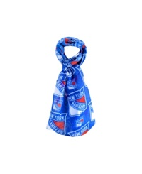 Forever Collectibles New York Rangers All Over Logo Infinity Scarf Blue