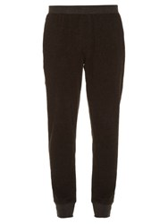 Atm Anthony Thomas Melillo Relaxed Fit Cotton Blend Track Pants Dark Grey