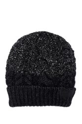 Diesel Cable Knit K Lali Beanie Black