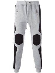 Philipp Plein 'Feels Good' Track Pants Grey