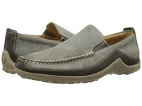 Cole Haan Tucker Venetian Bungee Cord Suede Men's Slip On Dress Shoes Gray