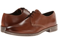 Stacy Adams Calum Cognac Hand Burnished Leather Men's Plain Toe Shoes Brown