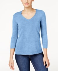 Karen Scott Petite V Neck Sweater Only At Macy's Allure