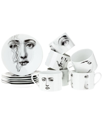 Fornasetti Tea Set White