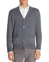 Brooks Brothers Saxxon Wool Cardigan Multi