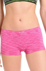 2Xist Women's 2 X Ist Hipster Boyshorts Very Berry Space Dye