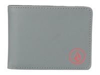 Volcom Corps Wallet Dark Grey Bill Fold Wallet Gray