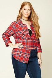 Forever 21 Plus Size Plaid Shirt