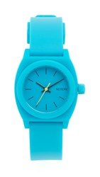 Nixon Small Time Teller Watch Teal