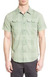 Men's Prana 'Marvin' Plaid Organic Cotton Sport Shirt