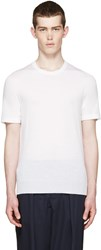 Christophe Lemaire Ivory Short Sleeve Sweater