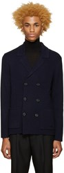 Burberry Navy Greatham Cardigan