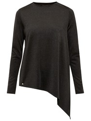 Ted Baker Vangeli Asymmetric Top Black